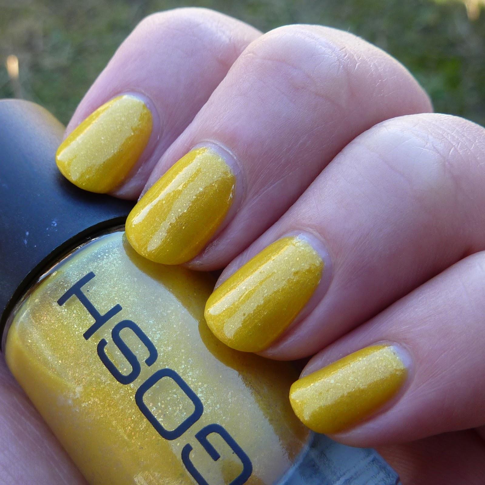 Yellow Nail Polish On: Polish, Plants & More....: Gosh