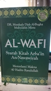 Jual Buku Online Surabaya   AL-WAFI Syarah Kitab Arba'in An-Nawawiyah (Hard Cover)