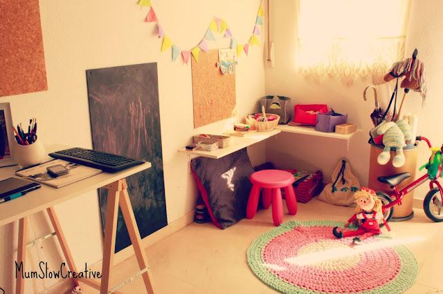 Espacio de juego niños mumslowcreative