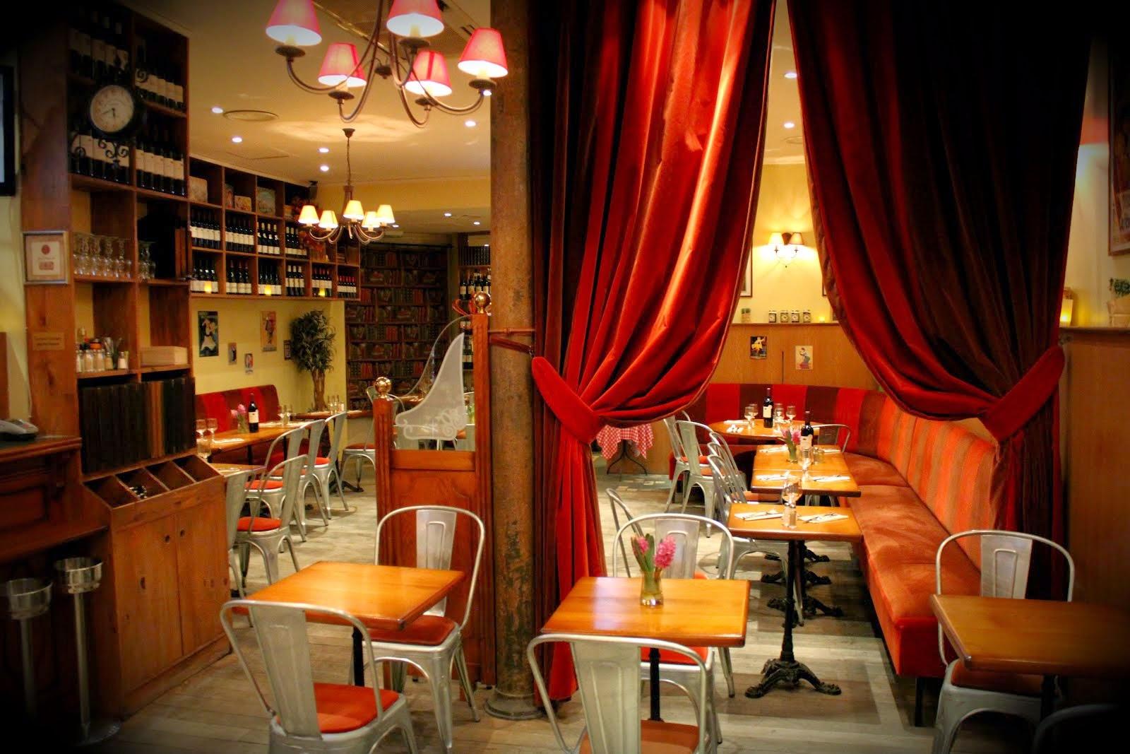 En bistro i Paris