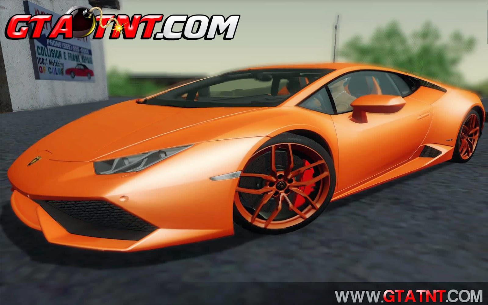 Lamborghini Huracán LP610-4 2015 para GTA San Andreas