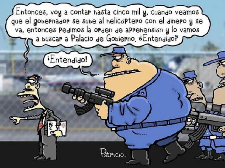 CARTON DE BURLA PGR
