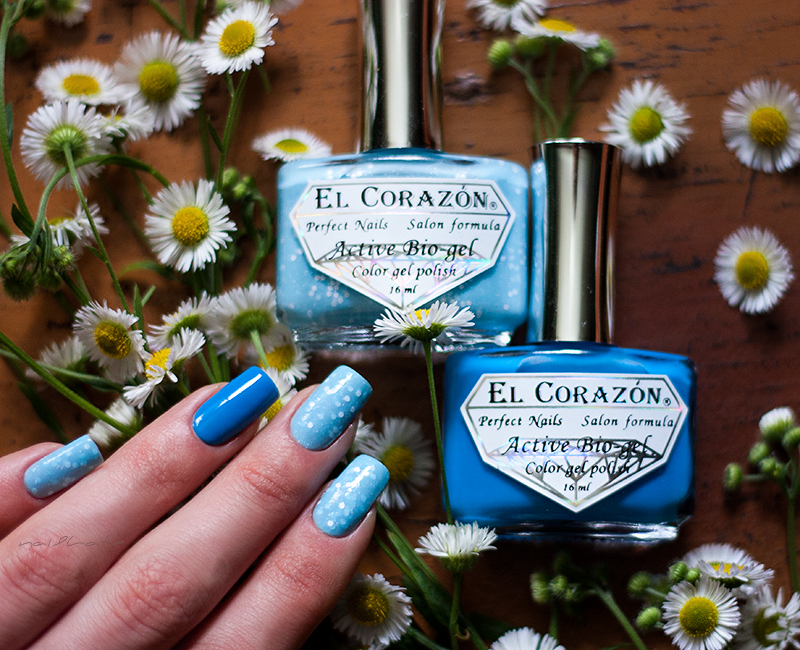 "El Corazon active bio-gel color gel polish ""Fashion girl"" 423/204 + El Corazon active bio-gel color gel polish ""Jelly Neon"" 423/252"