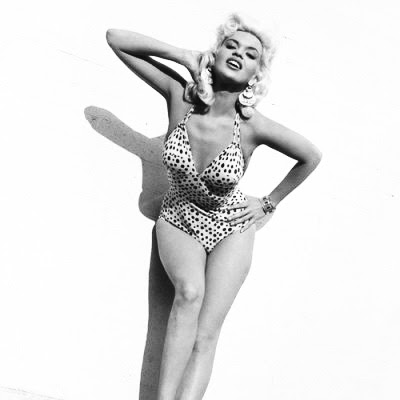 jayne mansfield with bathing suit