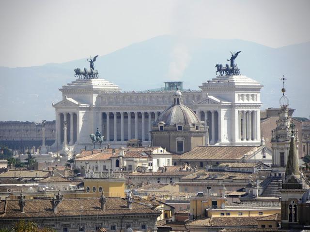 Sky views Rome