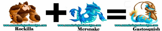 como hacer el monster gastosquish en monster legends formula 1