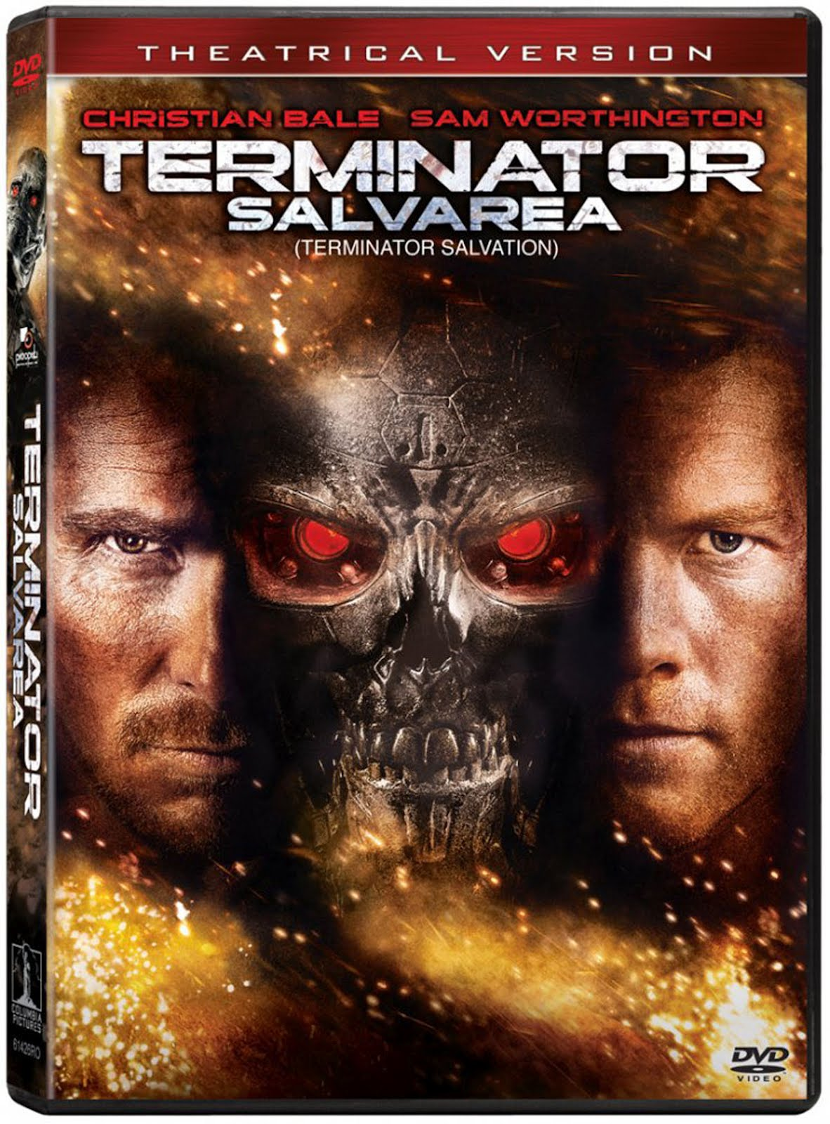 Terminator Salvation Movie DVD Case