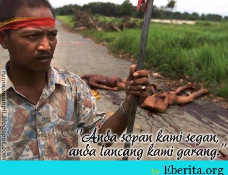 Tragedi Pembantaian Manusia Perang Sampit Dayak VS Madura ...