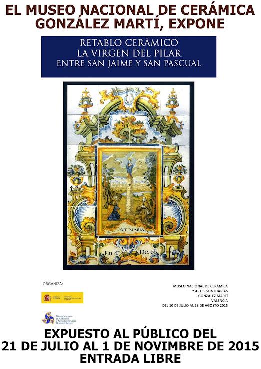 EXPOSICIÓN EN EL MUSEO NACIONAL DE CERÁMICA GONZÁLEZ MARTÍ DE VALENCIA