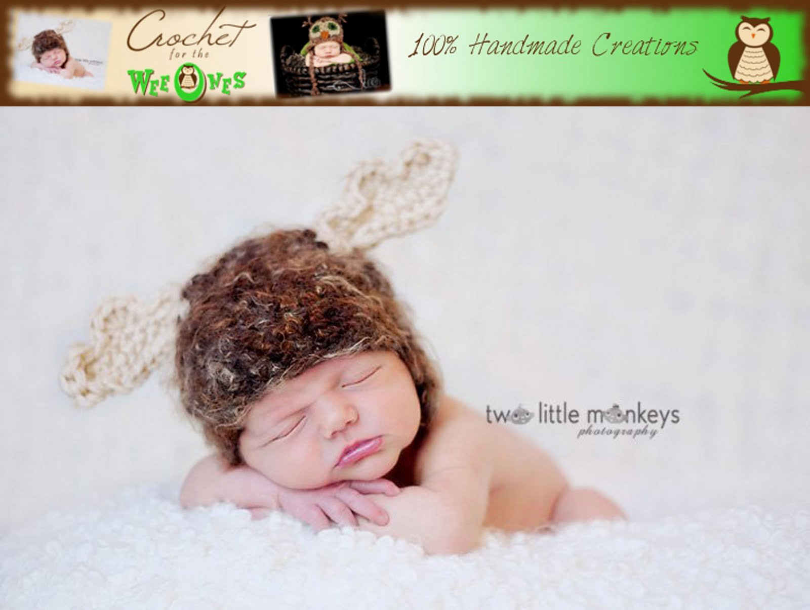 Erin's Toy Store: The Moose A Crochet Pattern by Erin Scull