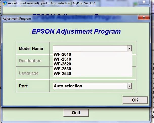 adjustment program xp 211 epson workforce 2010 2510. Black Bedroom Furniture Sets. Home Design Ideas