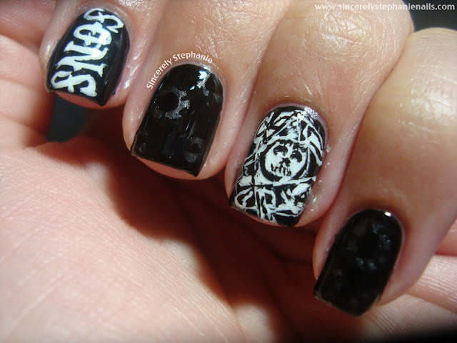 sons of anarchy nail art