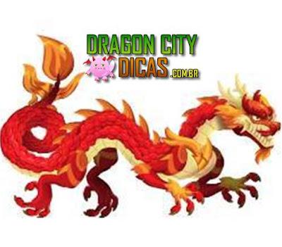 Dragão Asiático Vermelho