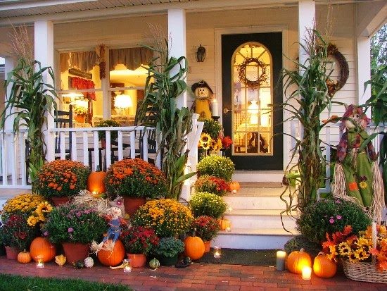 Thanksgiving Foyer Decor : Still woods farmhouse a welcoming entryway for your