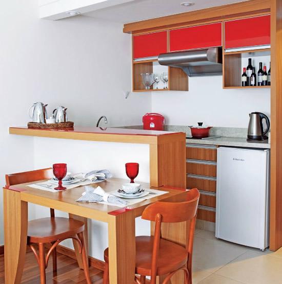 Cozinhas planejadas Cozinhas planejadas para apartamentos pequenos