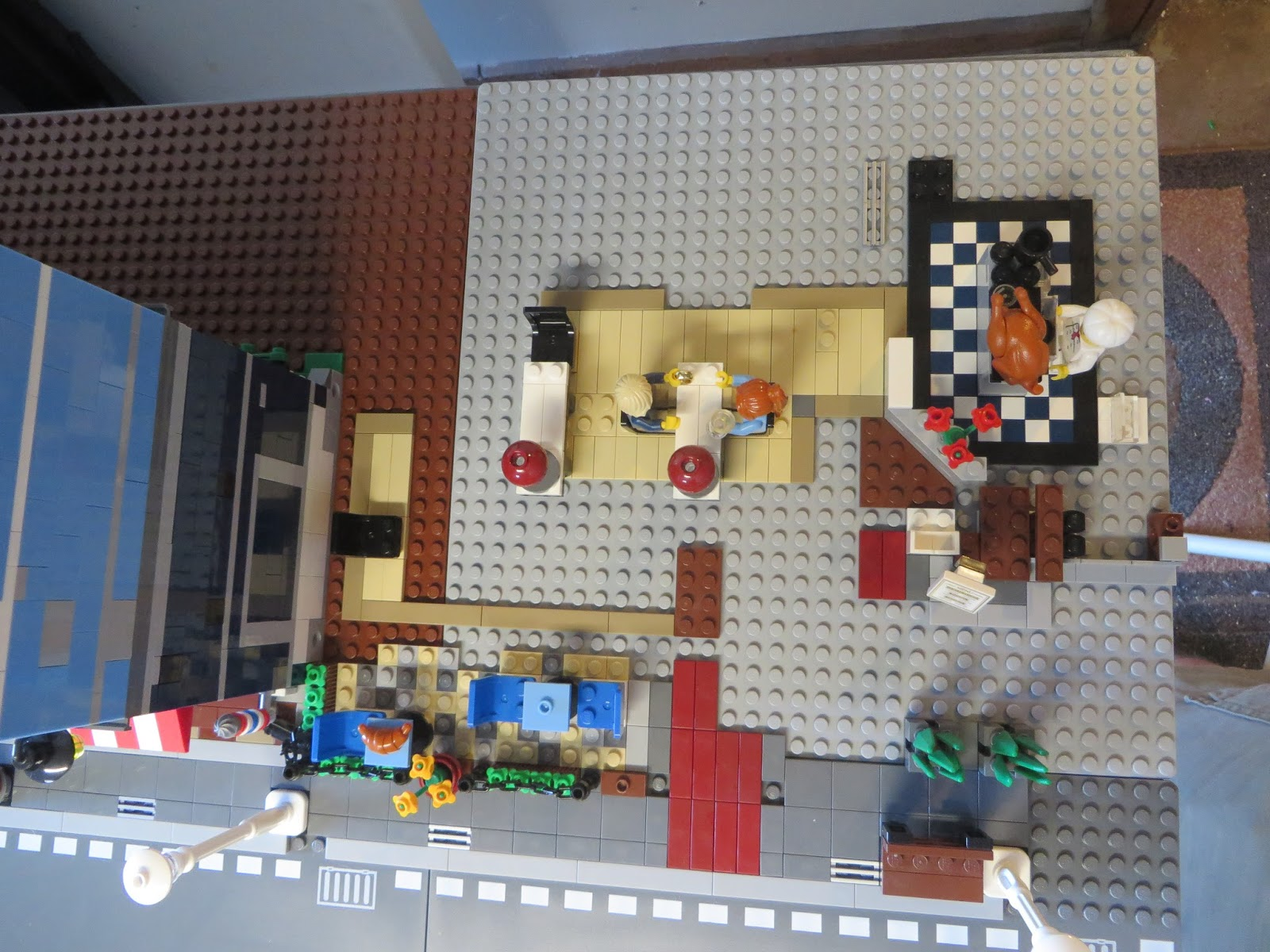 lego modular building layout pictures to pin on pinterest