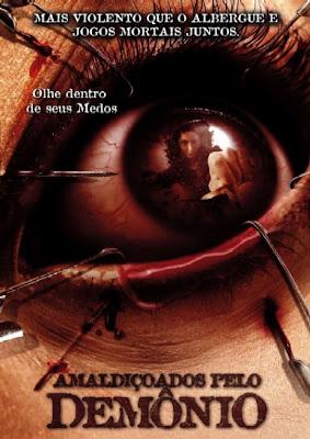 Filme Poster  Amaldiçoados pelo Demônio DVDRip XviD & RMVB Dublado