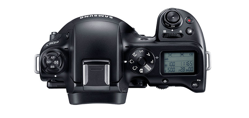 Compare cameras NX300, NX500, NX1 - NX1 Top View - image