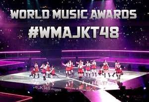Vote JKT48 di World Music Awards