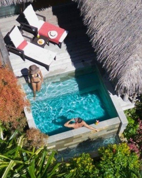 Um jardim para cuidar piscinas para espa os pequenos for Piscine pour petit terrain