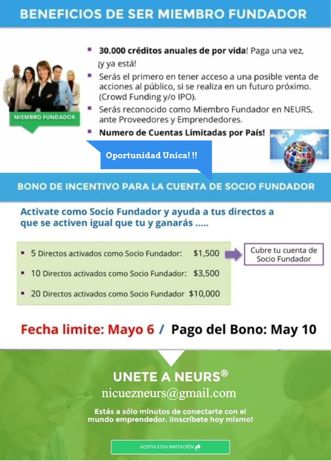 Beneficios Miembro Fundador-Daniel Nicuez