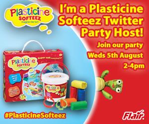 Plasticine Softeez Twitter party #plasticinesofteez
