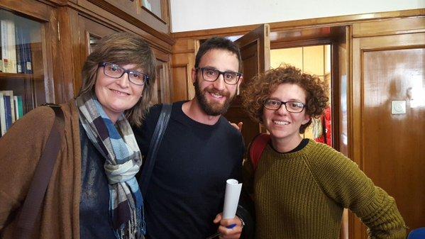 Marisol Moreno con Dani Rovira en las jornadas animalistas de Madrid del pasado 17 de enero.