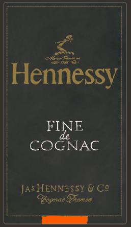 hennessy fine de cognac change de look l entree de gamme de la maison hennessy a ete finement retouche pour un positionnement plus contemporain