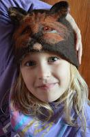 ciepła czapka z wełny