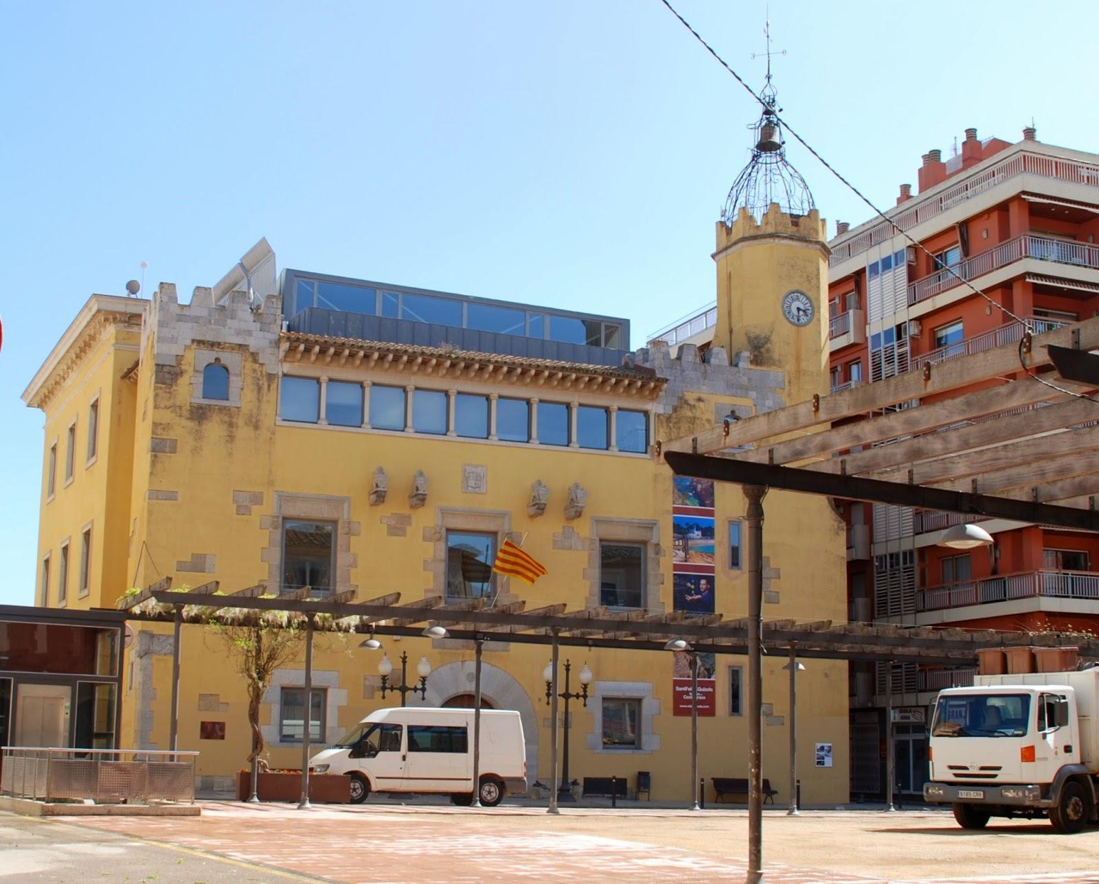 Town Hall, Sant Feliu de Guíxols