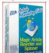 Free Magic article rewriter download