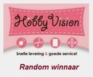 """Winnaar Hobby Vision op 19-01 2018 (#69) """"Winter 2018"""""""