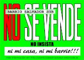 """Afiche """"No Se Vende"""""""