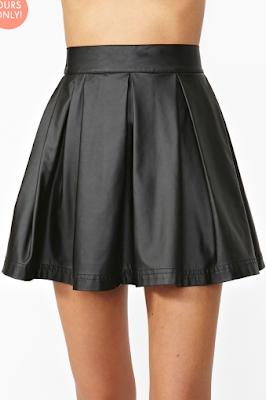 Varsity Moto Skirt