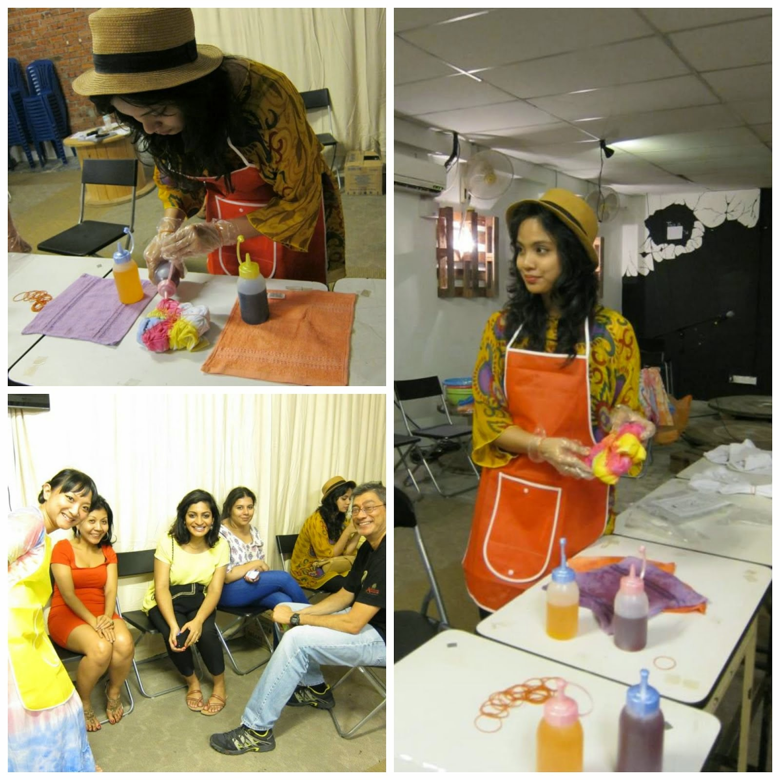 Dylon Tie Dye Workshop