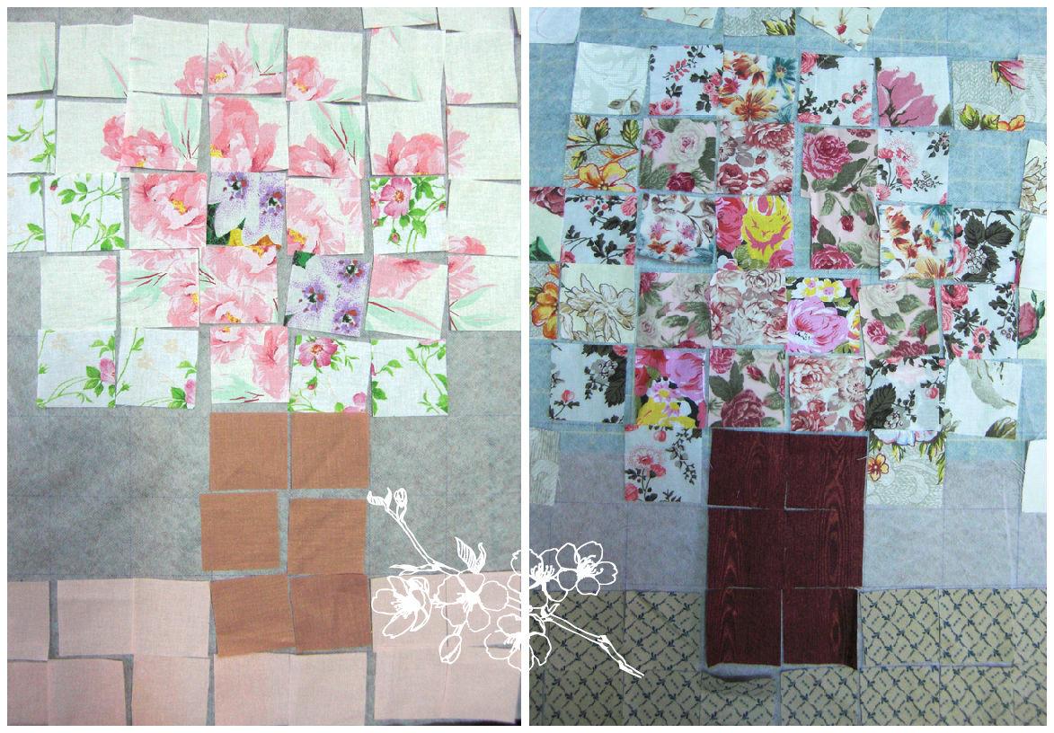watercolor quilt