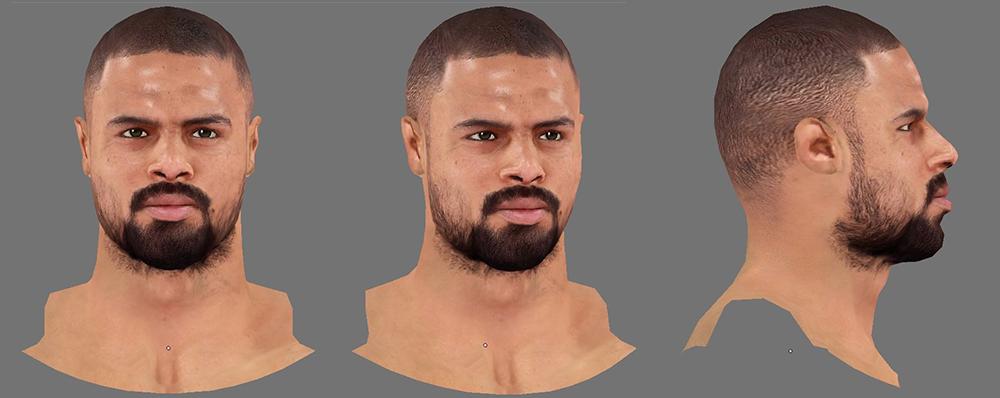 NBA 2K14 Tyson Chandler Next-Gen Face Mod