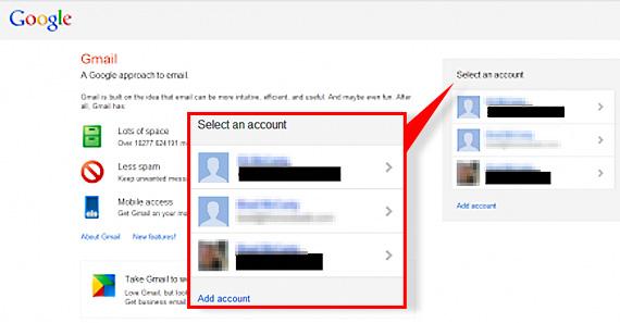 Utilizatorii Gmail vor putea sa administreze mai usor conturile multiple de email