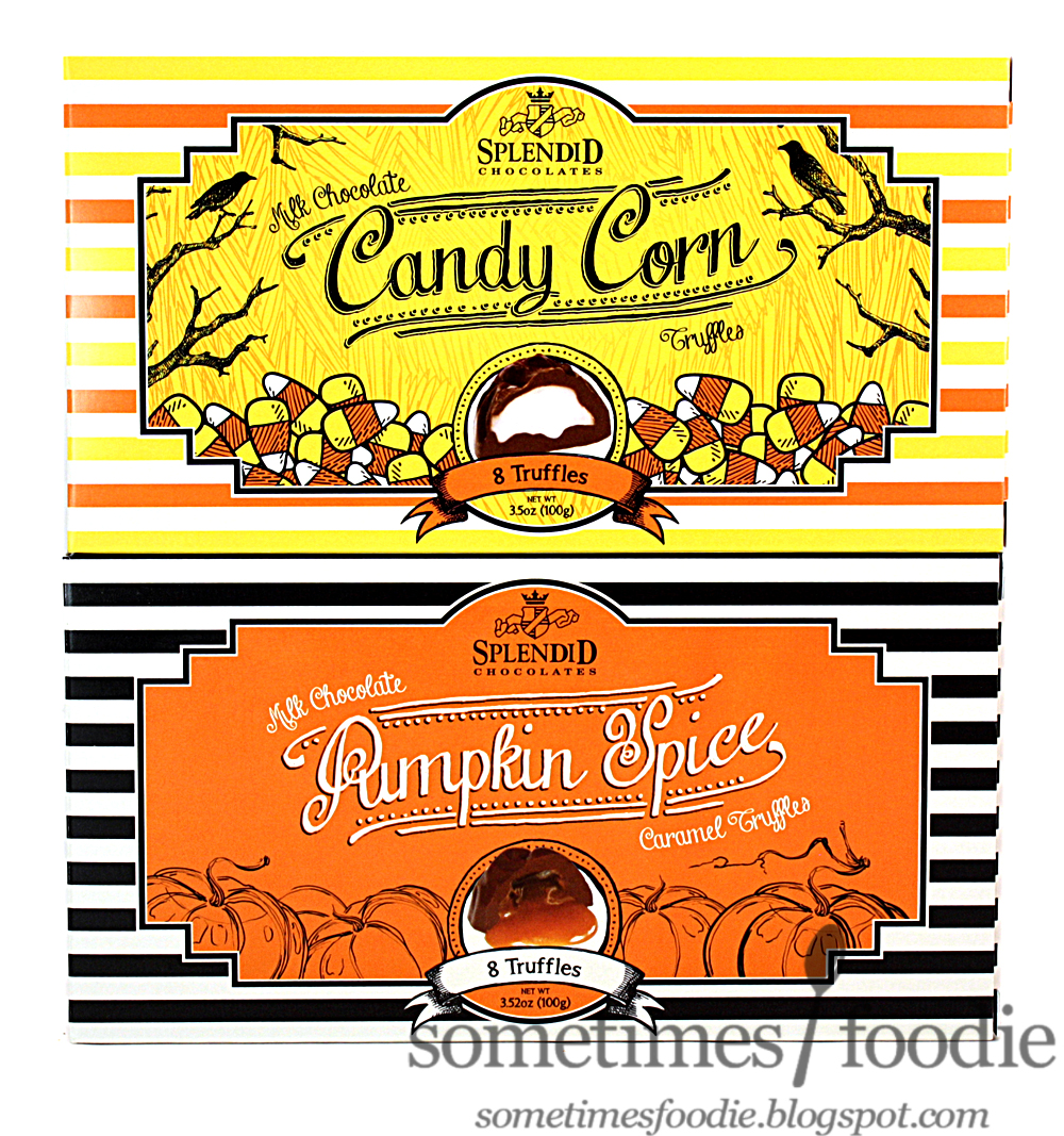 ... Milk Chocolate Truffles: Pumpkin Spice Caramel & Candy Corn - Target