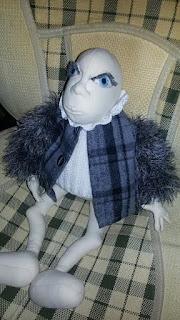 кукла по мотивам Джилл Маас