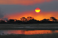 Lessoto sunset Africa
