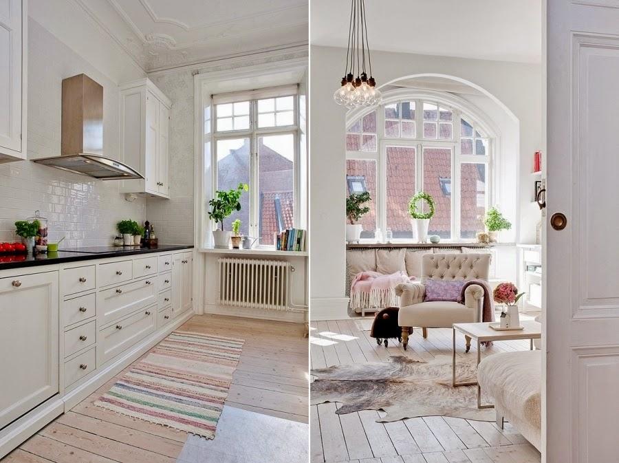 wystrój wnętrz, wnętrza, urządzanie mieszkania, dom, home decor, dekoracje, aranżacje, białe wnętrza, styl skandynawski, kuchnia, salon
