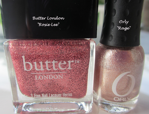 Butter London Orly Nail Polish
