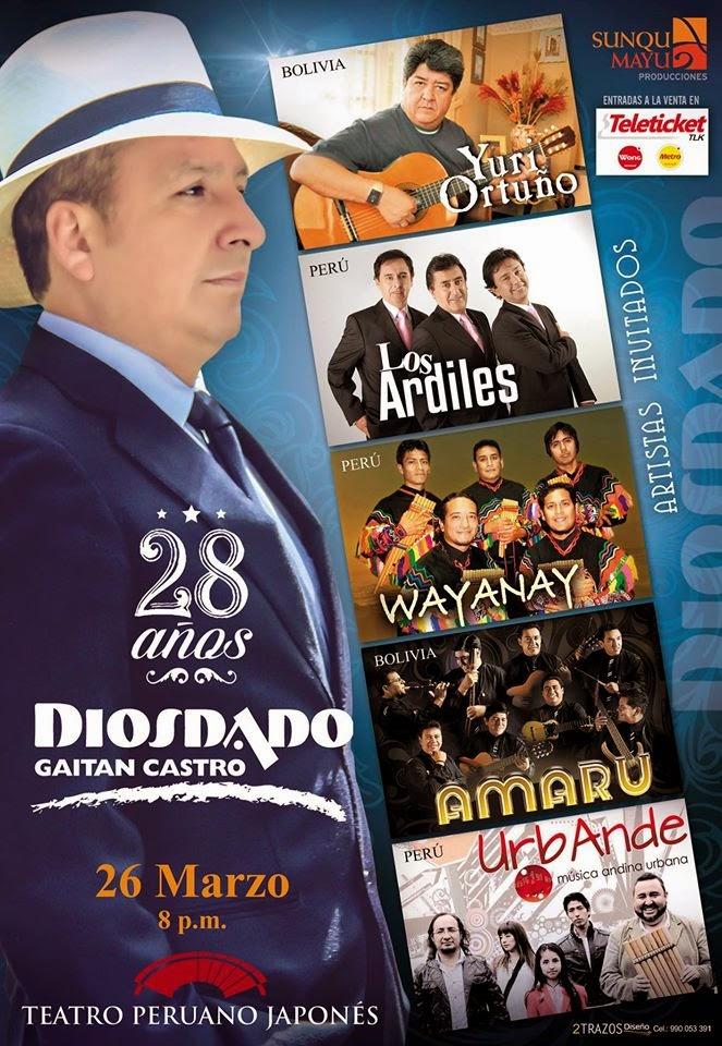 """28° Aniversario """"Diosdado Gaitán Castro"""""""