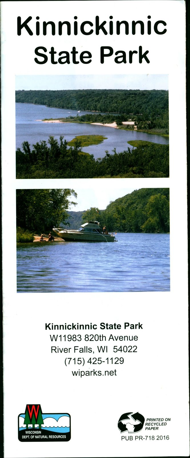 kinnickinnic state park map river falls wisconsin