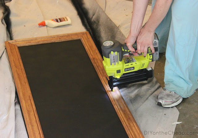 RYOBI 18V One+ Cordless Brad Nailer {Review via DIYontheCheap.com}