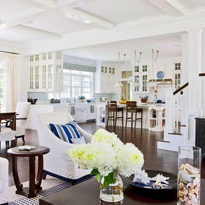 Coastal style hamptons style get the look for Hamptons beach house interiors