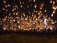 lampade volanti lanterne del cielo