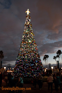 Christmas tree at World Showcase, Epcot