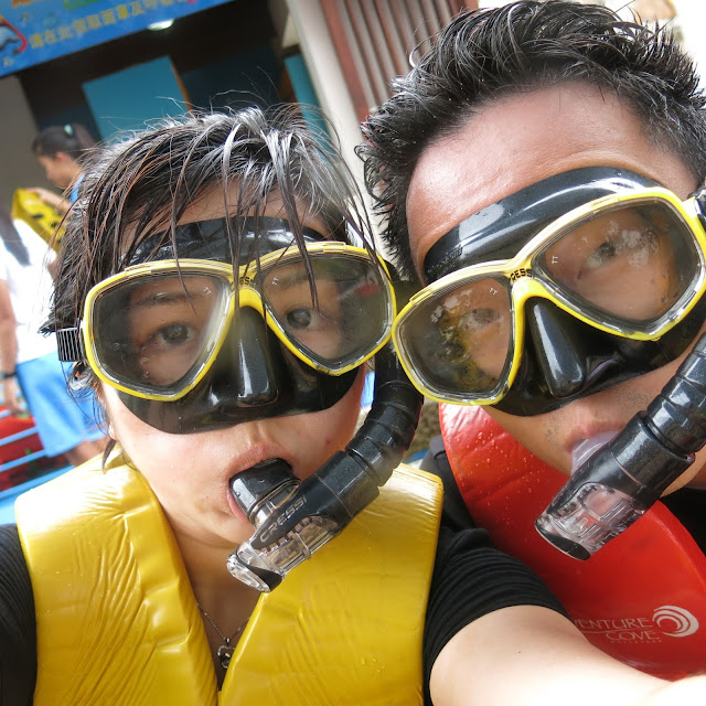 Adventure Cove Waterpark Singapore snorkel